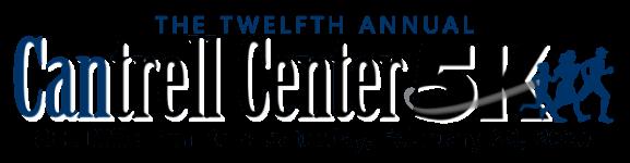12th Annual Cantrell Center 5K & Fun Run registration logo