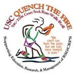 11th Annual Quench The Fire, Run, Walk & Roll 5/10K registration logo