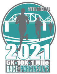 11th Annual Race for Parkinsons registration logo