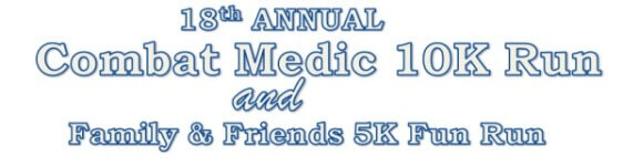 18th Annual Combat Medic Run registration logo