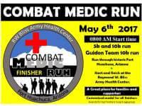19th Annual Combat Medic Run registration logo