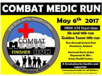 19th Annual Combat Medic Run registration logo