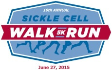 19th Annual Sickle Cell 5K Run/Walk registration logo