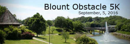 1st Annual Blount Obstacle 5K registration logo