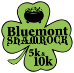 2nd Annual Bluemont Shamrock 5K/10K registration logo