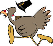 1st Annual Hope Kitchen Turkey Trot registration logo