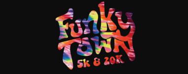 2015 Funkytown 5k and 20k registration logo