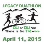 2015 Legacy Duathlon registration logo