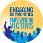 Victims Rights Awareness 5k walk/run registration logo