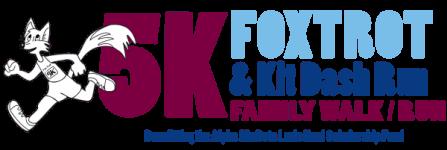 2016 AMB Fox Trot 5K & Kit Dash registration logo
