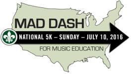 Mad Dash Tampa Bay registration logo