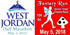 Fantasy Run - Half 10K 5K registration logo