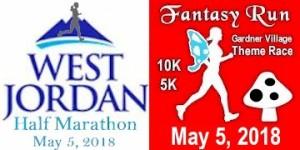 Fantasy Run - Half 10K 5K registration logo