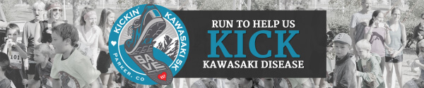 Kickin' Kawasaki 5K - Parker, CO registration logo