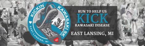 Kickin' Kawasaki 5K - MSU registration logo