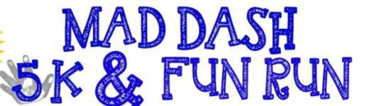 2017 Mad Dash 5K and Fun Run registration logo