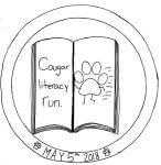 2018 Cougar Literacy Run registration logo