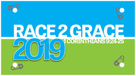 Race 2 Grace 5k,10K & Fun Run registration logo