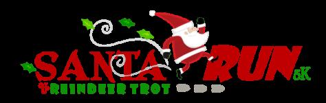 Santa Run & Reindeer Trot registration logo