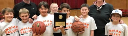 Youth Basketball League registration logo