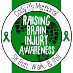 Cody D's Run, Walk and Roll registration logo