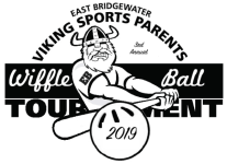2019 Viking Sports Parents 3rd Annual Wiffle Ball Tournament registration logo