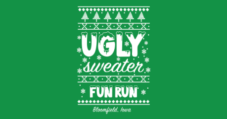 2020 Bloomfield's Ugly Sweater 5K registration logo