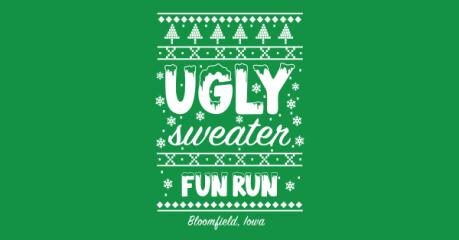 2020 Bloomfield's Ugly Sweater 5K registration logo