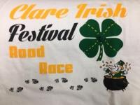 2020 Clare Irish Festival Road Race registration logo