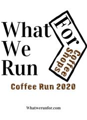 2020 Coffee Run registration logo