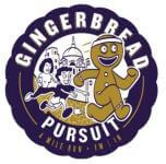 Gingerbread Pursuit 4 Miler registration logo
