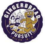 Gingerbread Pursuit 4 Miler registration logo