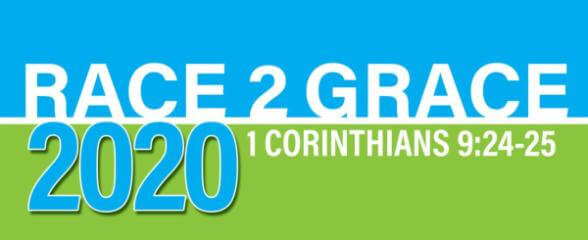 2020 Race 2 Grace 5k,10K & Fun Run registration logo