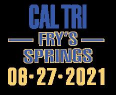 2021 Cal Tri Fry's Spring - 6.27.21 registration logo