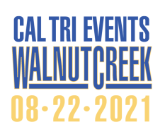 2021 Cal Tri Walnut Creek - 8.22.21 registration logo