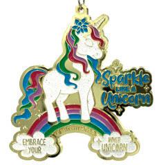 Embrace Your Inner Unicorn 1M 5K 10K 13.1 and 26.2 registration logo