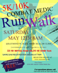 20th Annual Combat Medic Run registration logo