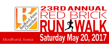 22nd Annual Bedford Red Brick Run registration logo