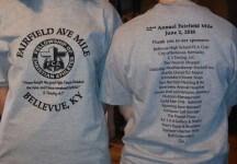 22nd Annual Fairfield Avenue Mile registration logo