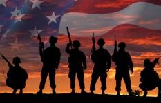 233 Veterans 5k Fun Run registration logo