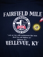 The Fairfield Avenue Mile registration logo