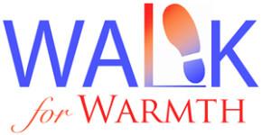 27th Annual Walk for Warmth 5KRun/3KWalk registration logo