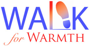 27th Annual Walk for Warmth 5KRun/3KWalk registration logo