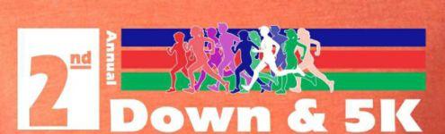 2nd Annual 2nd Down & 5K registration logo
