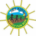 3rd Annual Joy Kids Fun Run and Walk registration logo