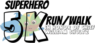 2nd Annual LCCAC Superhero 5K Run/Walk registration logo