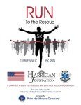2nd Annual Run to the Rescue 5k Race registration logo