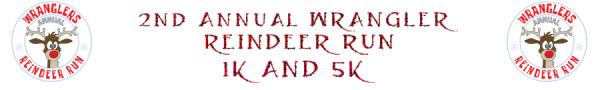 2nd Annual Wrangler Reindeer Run 1k and 5k registration logo