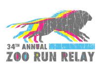 34th 'Animal' Zoo Run Relay registration logo