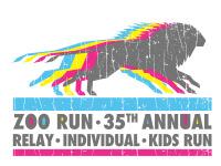 35th Annual Zoo Run Relay registration logo